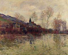 Inondation à Giverny (C Monet - W 1058),1886.