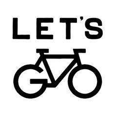 bike, let's go bike, let's go print, bicycle