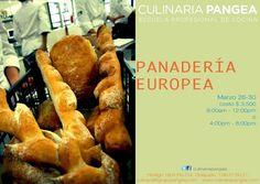 Panadería Europea / Culinaria Pangea / Mty / 26-30 Marzo