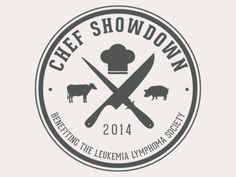 LLS Chef Showdown Logo by Jason Frostholm