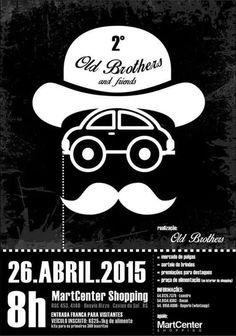 2° Old Brothers and Friends 26 de Abril 2015 Desvio Rizzo, Caxias do Sul, Rio Grande do Sul, Brazil.