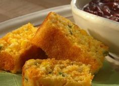 Green Chile Cornbread!