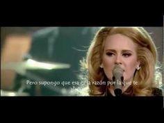 Adele - Rumor Has It (live) (Subtitulada al Español)