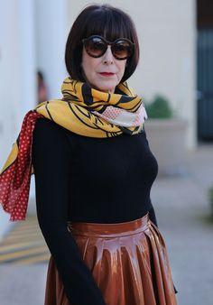 Модная одежда и стиль для женщин в возрасте