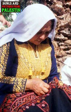 The art of embroidery is one common to many cultures around the world. Folk Costume, Costumes, Arabic Dress, Palestinian Embroidery, Embroidered Tunic, Cutwork, Traditional Dresses, Pattern Fashion, Embroidery Patterns