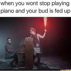 Just bc he plays the piano doesn't mean he's not willing to take u down. watch ur back josh