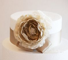 Champagne Wedding Cake Decorations, Champagne Wedding Accessory, Country rustic Cake Decoration, Neutral colors on Etsy, $32.50