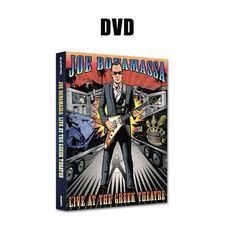 Joe Bonamassa: Live at the Greek Theatre (DVD) (Released: Mtv Live, Gibson Flying V, Hammond Organ, Albert King, Blue Song, Red Rock Amphitheatre, Joe Bonamassa, Go Ride, Top Albums