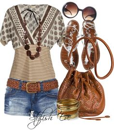 Love this entire outfit! Totally my style! Cute Summer Outfits, Summer Wear, Spring Summer Fashion, Spring Outfits, Cool Outfits, Casual Outfits, Fashion Outfits, Womens Fashion, Fashion Trends