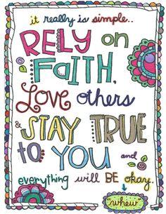 Faith doodle