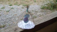 Création pour ma super amie-collègue Stephanie, qui m'a initié à cette art en fil de fer armé, inspiré de http://epistyle.blogspot.fr/