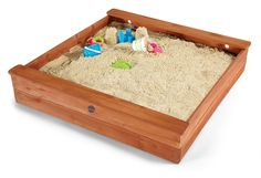 Bring fun and excitement to kids' playtime while also helping enrich their creativity, thanks to the Plum Square Wooden Sand Pit. Sand Pit, Cubbies, Play Houses, Outdoor Activities, Plum, Baby Kids, Toys, Creative, Home Decor