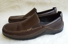080c128a1ed Men s Cole Haan Tucker Venetian Brown Driving Moccasins Loafers Size 9.5 W   fashion  clothing