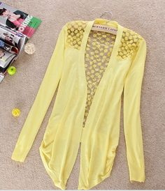 Lace Cardigan so cute for spring