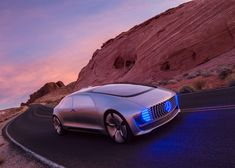 "Mercedes-Benz's latest concept car is a driverless ""living space""."