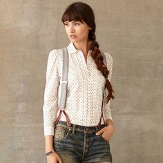 Cecilia Calico Shirt