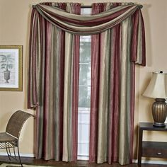 Park Avenue Collection Ombre Scarf 50x144 - Burgundy