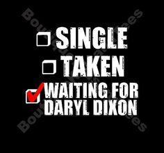 Walking Dead Daryl Dixon tee by BoutiqueKidsandTees on Etsy, $18.00
