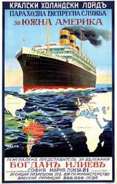 Koninklijke Hollandsche Lloyd Affiche