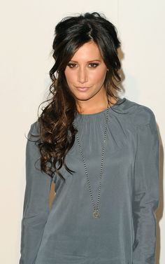 Love this style for long hair! Lots of volume