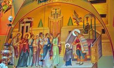 Forefeast of the Entrance Into the Temple of the Most Holy Theotokos Holi, Entrance, Temple, Culture, Painting, Art, Entryway, Art Background, Door Entry