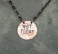 """This pendant quoting the great Syrio Forel, inspiring you to outrun darkness. 