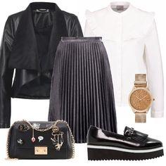 Bianco e nero  outfit donna Trendy per tutti i giorni  cef9d63d62e