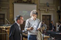 Sergio Di Tillio (presidente AILM) e FLAVIO CIARROCCHI (Betafence)