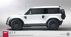 Defender DC100 Concept Renderings by Project Kahn: Project Kahn Defender DC100 Concept 477 Expedition Vehicle