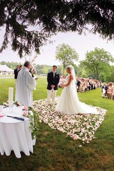 My Backyard Wedding