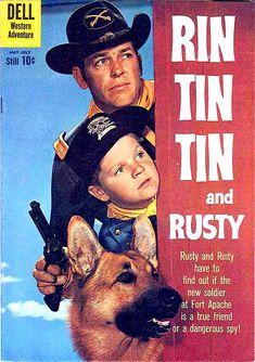 RIN TIN TIN - Serie TV In Italia Anni 60 curiosando anni 70Curiosando Negli ANNI 60 70 80 90