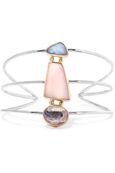 Pink opal, total weight: 18.00-carats;  jelly opal, total weight: 3.78-carats; opal doublet, total weight: 0.79-carats Slips on This piece is made from 100% recycled gold and silver NET-A-PORTER.COM is a certified member of the Responsible Jewellery Council