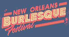 ''New Orleans Burlesque Festival'' Logo by Leviathan©  ••• #design #creative #create #poster #graphic #vintage #diseño #lifestyle #rockNroll #punk #rockabilly #hotrod #motocicletas #bikers #psychobilly