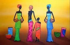 Resultado de imagen para dibujos africanos etnicos