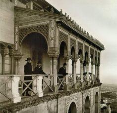 El mirador del Pavelló de la Reina al Tibidabo. | BARCELODONA
