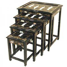 Lacquer Table Set