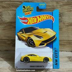 Hot Wheels Ferrari F12 Berlinetta Yellow HW City 31/250 Speed Team US Card  Update: Fb/Twitter/Line: idStoreplus  #hotwheels #hotwheelsphotography #diecast #hotwheelscollector #hotwheelscollection  #hotwheelscirebon #hotwheelstangerang #ferrari #f12berlinetta #hotwheelsjakarta #hotwheelssemarang #hotwheelsindonesia #hotwheelsmurah #pajangan #diecastindonesia #diecastjakarta #kadoanak #kadounik #mainananak #kadoulangtahun  #hotwheelssolo #mobilan #jualminiatur #jualmainan #jualpajangan…