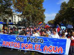 Marcha por la Defensa y Recuperación del Agua.
