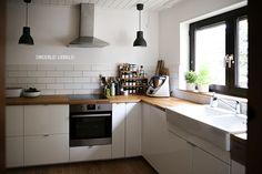 Die 11 besten Bilder von Küche ohne Hängeschränke   Küche ...