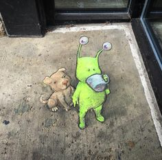 David Zinn - Sluggo  New Work