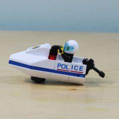Creative Lego Compatible Building Blocks Police boat_Police story(35pcs) #ENLIGHTEN