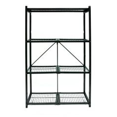 Storage Shelving Steel Shelf Rack Metal Shelves Heavy Duty Rack Garage Organizer