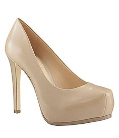Bought these in this color - Gianni Bini Lilli Round Toe Pumps #Dillards