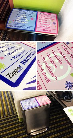 WALLS 360 created a custom collection of on-demand, re-positionable wall graphics for the new Zappos offices in Downtown Las Vegas.    http://blog.walls360.com/custom-wall-graphics-for-zappos-downtown-las-vegas/