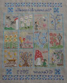 Un anno di crocette rovescio by giuseppina ceraso http://crocettando.wordpress.com/2013/11/30/un-anno-di-crocette-ultimo-schema/