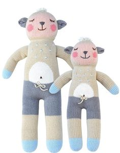 Year of the Sheep baby gifts: Wooly the sheep knit dolls from Blabla kids