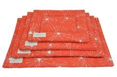 Orange Pet Pad | Crate Mat | Crate Pad | Water Resistant Dog Bed | Portable Puppy Bed | Dog Mats | Unique Mats | Small Medium Large XL Mats by originaldigsllc. Explore more products on http://originaldigsllc.etsy.com