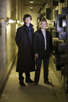 Sherlock Holmes and John Watson!!  <3