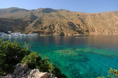 The bay of Loutro