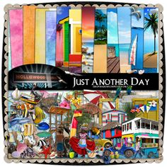 Just Another Day by Holliewood Studios. Digital kit